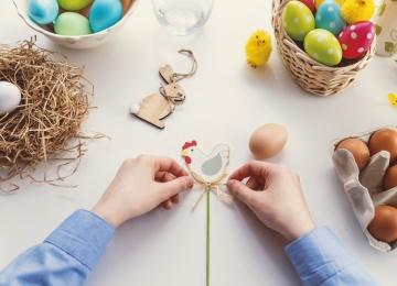 Húsvét a Zsolnay Negyedben