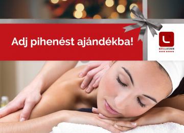 Laterum wellnesspihenés karácsonyra!
